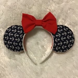 Handcrafted Patriotic Mickey Ears (Made in Hawaii)
